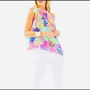 Lilly Pulitzer Caftan Top